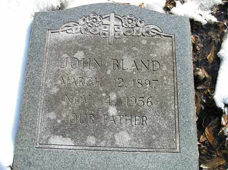 BLAND, JOHN - Lonoke County, Arkansas   JOHN BLAND - Arkansas Gravestone Photos
