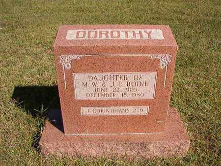 BODIE, DOROTHY - Lonoke County, Arkansas   DOROTHY BODIE - Arkansas Gravestone Photos