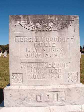 BODIE, MORGAN WOODRUFF - Lonoke County, Arkansas | MORGAN WOODRUFF BODIE - Arkansas Gravestone Photos