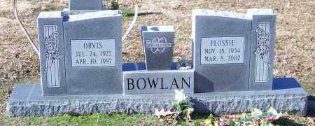 BOWLAN, FLOSSIE - Lonoke County, Arkansas | FLOSSIE BOWLAN - Arkansas Gravestone Photos