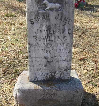 BOWLING, SARAH JANE - Lonoke County, Arkansas   SARAH JANE BOWLING - Arkansas Gravestone Photos