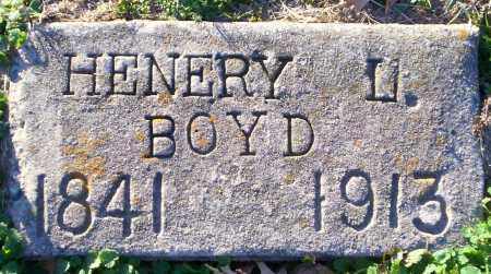 BOYD, HENERY L - Lonoke County, Arkansas | HENERY L BOYD - Arkansas Gravestone Photos