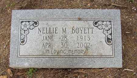 BOYETT, NELLIE M. - Lonoke County, Arkansas | NELLIE M. BOYETT - Arkansas Gravestone Photos