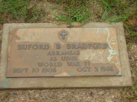 BRADFORD  (VETERAN), BUFORD B - Lonoke County, Arkansas | BUFORD B BRADFORD  (VETERAN) - Arkansas Gravestone Photos