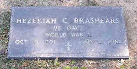 BRASHEARS  (VETERAN WWI), HEZEKIAH - Lonoke County, Arkansas   HEZEKIAH BRASHEARS  (VETERAN WWI) - Arkansas Gravestone Photos