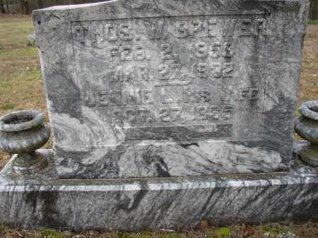 BREWER, THOMAS W. - Lonoke County, Arkansas   THOMAS W. BREWER - Arkansas Gravestone Photos
