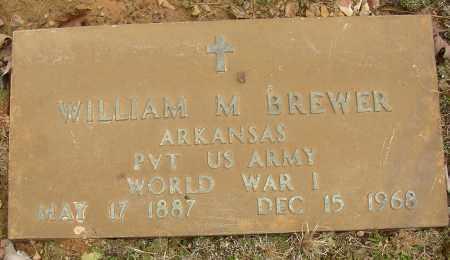 BREWER (VETERAN WWI), WILLIAM M - Lonoke County, Arkansas | WILLIAM M BREWER (VETERAN WWI) - Arkansas Gravestone Photos