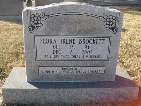 BROCKETT, FLORA IRENE - Lonoke County, Arkansas   FLORA IRENE BROCKETT - Arkansas Gravestone Photos