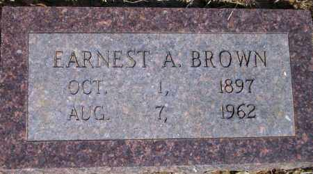 BROWN, EARNEST A - Lonoke County, Arkansas | EARNEST A BROWN - Arkansas Gravestone Photos