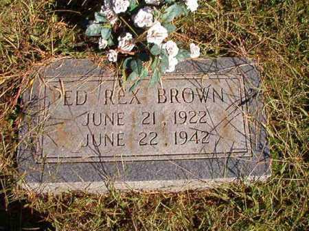 BROWN, ED REX - Lonoke County, Arkansas | ED REX BROWN - Arkansas Gravestone Photos