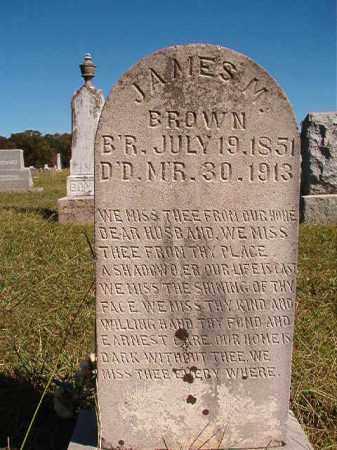 BROWN, JAMES M - Lonoke County, Arkansas | JAMES M BROWN - Arkansas Gravestone Photos