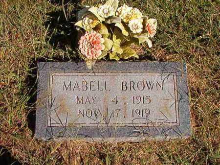 BROWN, MABELL - Lonoke County, Arkansas | MABELL BROWN - Arkansas Gravestone Photos