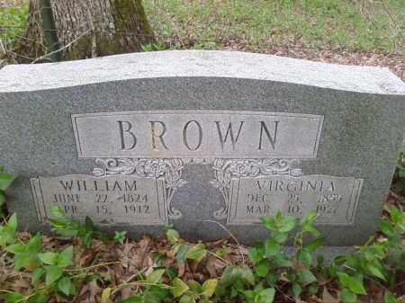 BROWN, WILLAIM - Lonoke County, Arkansas | WILLAIM BROWN - Arkansas Gravestone Photos