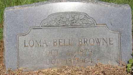 BROWNE, LOMA BELL - Lonoke County, Arkansas   LOMA BELL BROWNE - Arkansas Gravestone Photos
