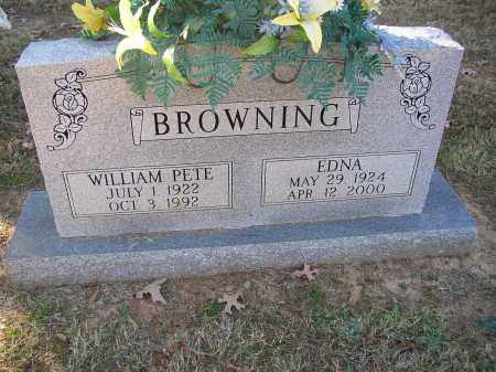 BROWNING, EDNA - Lonoke County, Arkansas | EDNA BROWNING - Arkansas Gravestone Photos