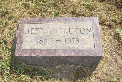 BRUTON, JEFF C. - Lonoke County, Arkansas | JEFF C. BRUTON - Arkansas Gravestone Photos