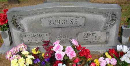 BURGESS, HENRY F. - Lonoke County, Arkansas   HENRY F. BURGESS - Arkansas Gravestone Photos
