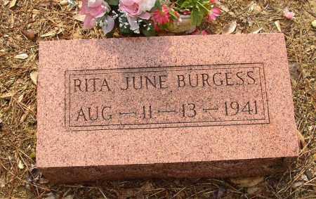 BURGESS, RITA JUNE - Lonoke County, Arkansas | RITA JUNE BURGESS - Arkansas Gravestone Photos