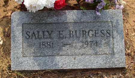 BURGESS, SALLY E. - Lonoke County, Arkansas | SALLY E. BURGESS - Arkansas Gravestone Photos