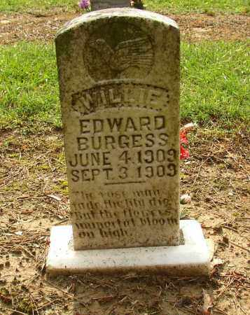 BURGESS, WILLIE EDWARD - Lonoke County, Arkansas | WILLIE EDWARD BURGESS - Arkansas Gravestone Photos
