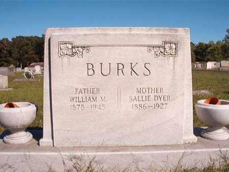 BURKS, WILLIAM M - Lonoke County, Arkansas | WILLIAM M BURKS - Arkansas Gravestone Photos