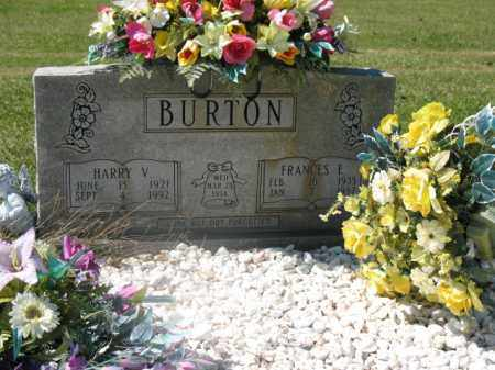 BURTON, JR, HARRY V - Lonoke County, Arkansas | HARRY V BURTON, JR - Arkansas Gravestone Photos