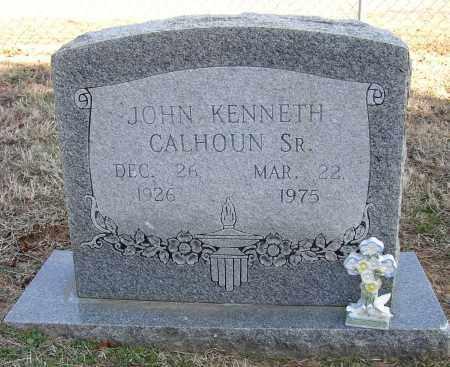 CALHOUN, JOHN KENNETH - Lonoke County, Arkansas | JOHN KENNETH CALHOUN - Arkansas Gravestone Photos