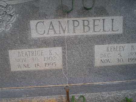 CAMPBELL, KELLEY B - Lonoke County, Arkansas | KELLEY B CAMPBELL - Arkansas Gravestone Photos