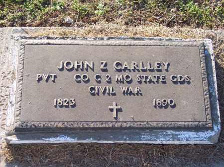 CARLLEY (VETERAN CSA), JOHN Z - Lonoke County, Arkansas | JOHN Z CARLLEY (VETERAN CSA) - Arkansas Gravestone Photos