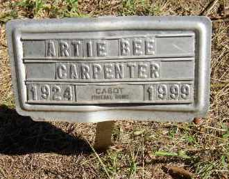 CARPENTER, ARTIE BEE - Lonoke County, Arkansas | ARTIE BEE CARPENTER - Arkansas Gravestone Photos