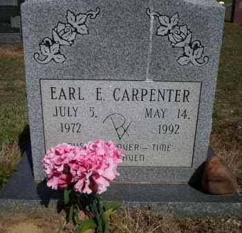 CARPENTER, EARL E - Lonoke County, Arkansas | EARL E CARPENTER - Arkansas Gravestone Photos