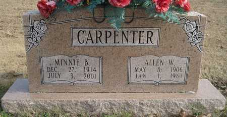 CARPENTER, ALLEN W - Lonoke County, Arkansas   ALLEN W CARPENTER - Arkansas Gravestone Photos