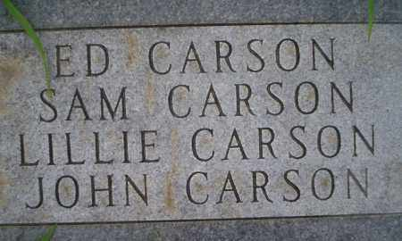 CARSON, SAM - Lonoke County, Arkansas | SAM CARSON - Arkansas Gravestone Photos