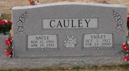 CAULEY, VIOLET - Lonoke County, Arkansas | VIOLET CAULEY - Arkansas Gravestone Photos