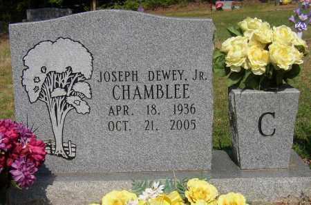 CHAMBLEE, JR (VETERAN), JOSEPH DEWEY - Lonoke County, Arkansas | JOSEPH DEWEY CHAMBLEE, JR (VETERAN) - Arkansas Gravestone Photos