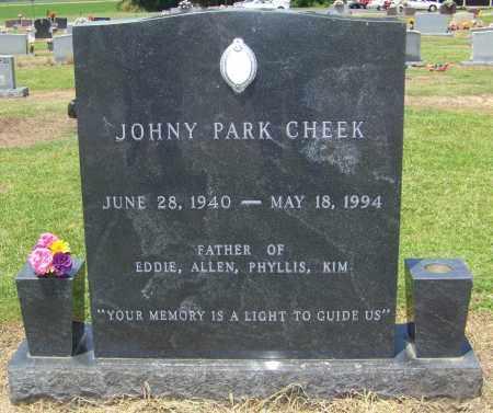 CHEEK, JOHNY PARK - Lonoke County, Arkansas | JOHNY PARK CHEEK - Arkansas Gravestone Photos