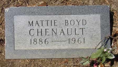 CHENAULT, MATTIE - Lonoke County, Arkansas | MATTIE CHENAULT - Arkansas Gravestone Photos