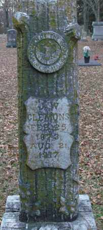 CLEMONS, J  W - Lonoke County, Arkansas   J  W CLEMONS - Arkansas Gravestone Photos