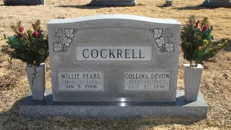 COCKRELL, WILLIE PEARL - Lonoke County, Arkansas | WILLIE PEARL COCKRELL - Arkansas Gravestone Photos