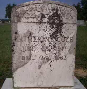 COLE, KATHERINE - Lonoke County, Arkansas   KATHERINE COLE - Arkansas Gravestone Photos