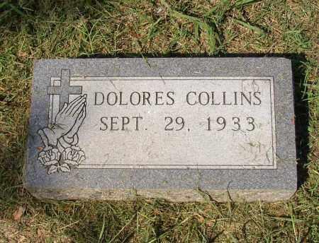COLLINS, DELORES - Lonoke County, Arkansas | DELORES COLLINS - Arkansas Gravestone Photos