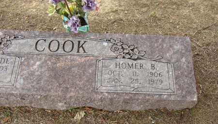 COOK, HOMER B. - Lonoke County, Arkansas | HOMER B. COOK - Arkansas Gravestone Photos