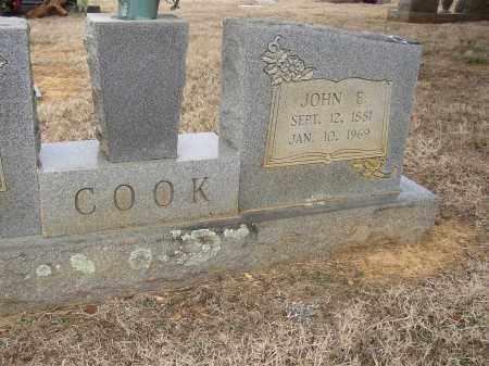 COOK, JOHN E. - Lonoke County, Arkansas | JOHN E. COOK - Arkansas Gravestone Photos