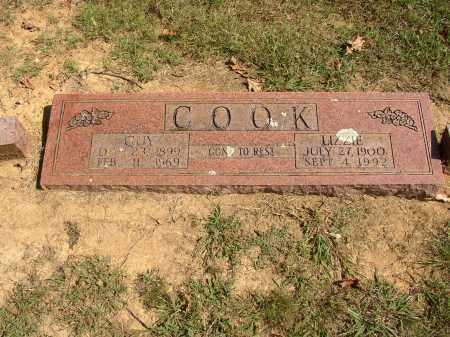 COOK, LIZZIE - Lonoke County, Arkansas | LIZZIE COOK - Arkansas Gravestone Photos