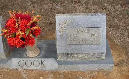 COOK, MAMIE - Lonoke County, Arkansas | MAMIE COOK - Arkansas Gravestone Photos