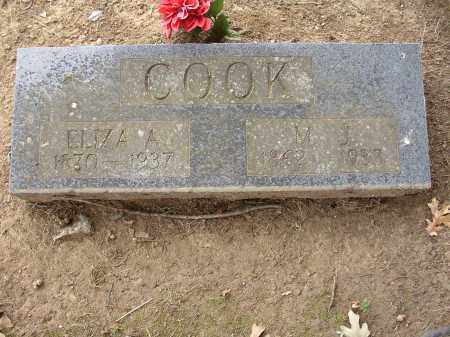COOK, M. J. - Lonoke County, Arkansas | M. J. COOK - Arkansas Gravestone Photos