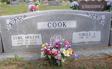 COOK, SYBIL - Lonoke County, Arkansas | SYBIL COOK - Arkansas Gravestone Photos