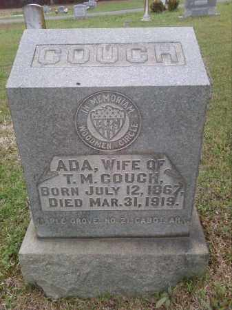 MAR COUCH, ADA - Lonoke County, Arkansas   ADA MAR COUCH - Arkansas Gravestone Photos