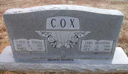 COX, ZENITH M - Lonoke County, Arkansas | ZENITH M COX - Arkansas Gravestone Photos