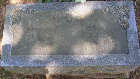 COX, CORA M. - Lonoke County, Arkansas | CORA M. COX - Arkansas Gravestone Photos